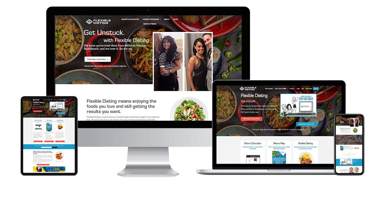 flexible-dieting-web-design-case-study