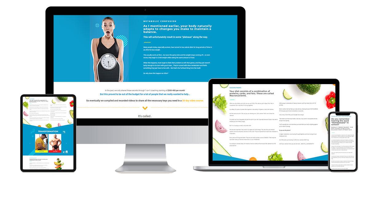 macro-diet-landing-page
