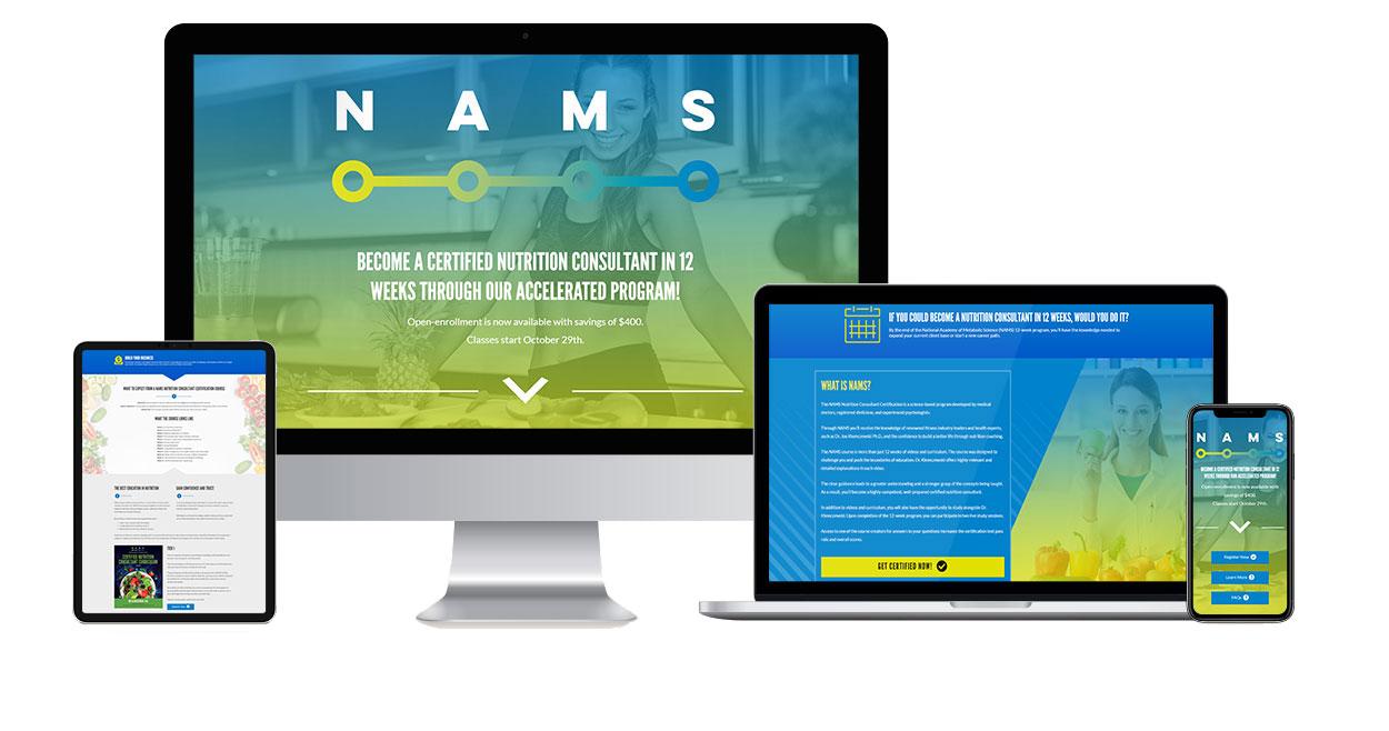 nams-case-study-website-design