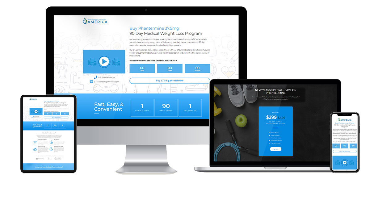 phentermine-web-design-landing-page